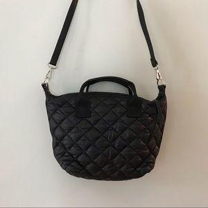 Handbags - Black Crossbody Pillow Bag